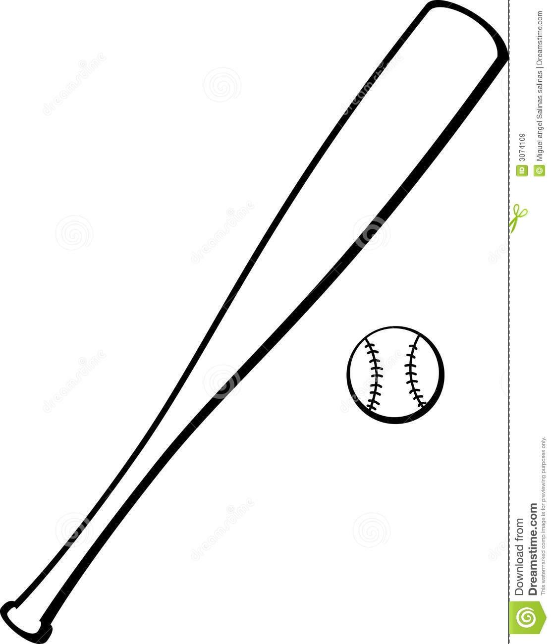 Bat And Ball Clipart