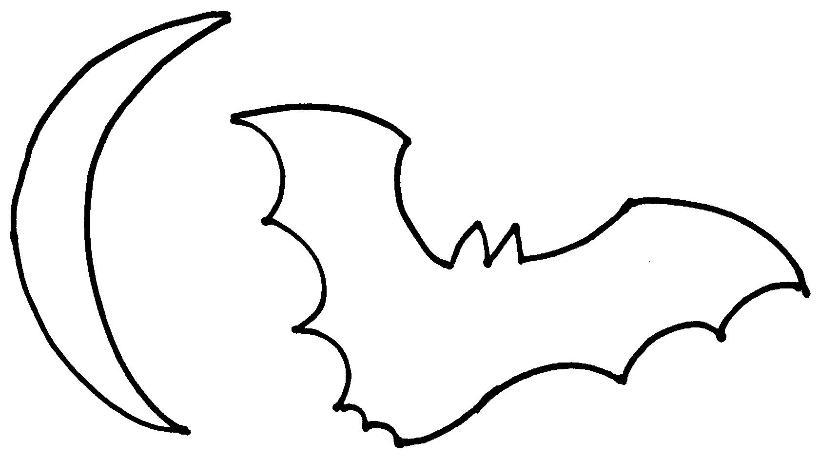 Bat Outline