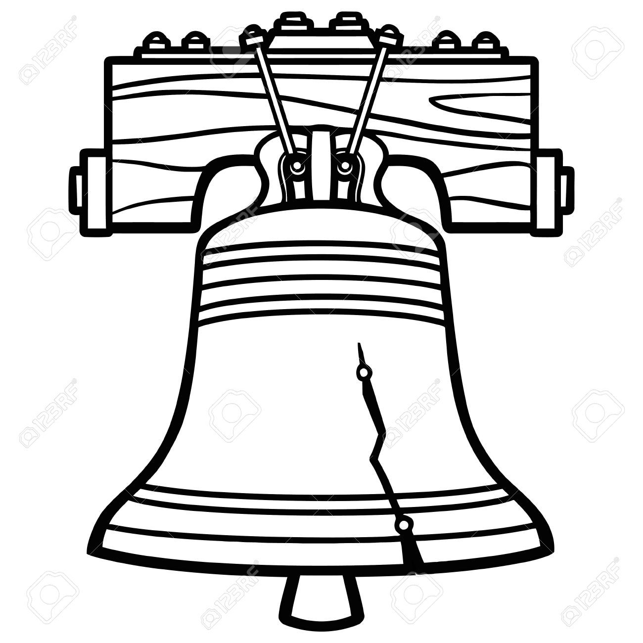 Bell Clipart Black And White