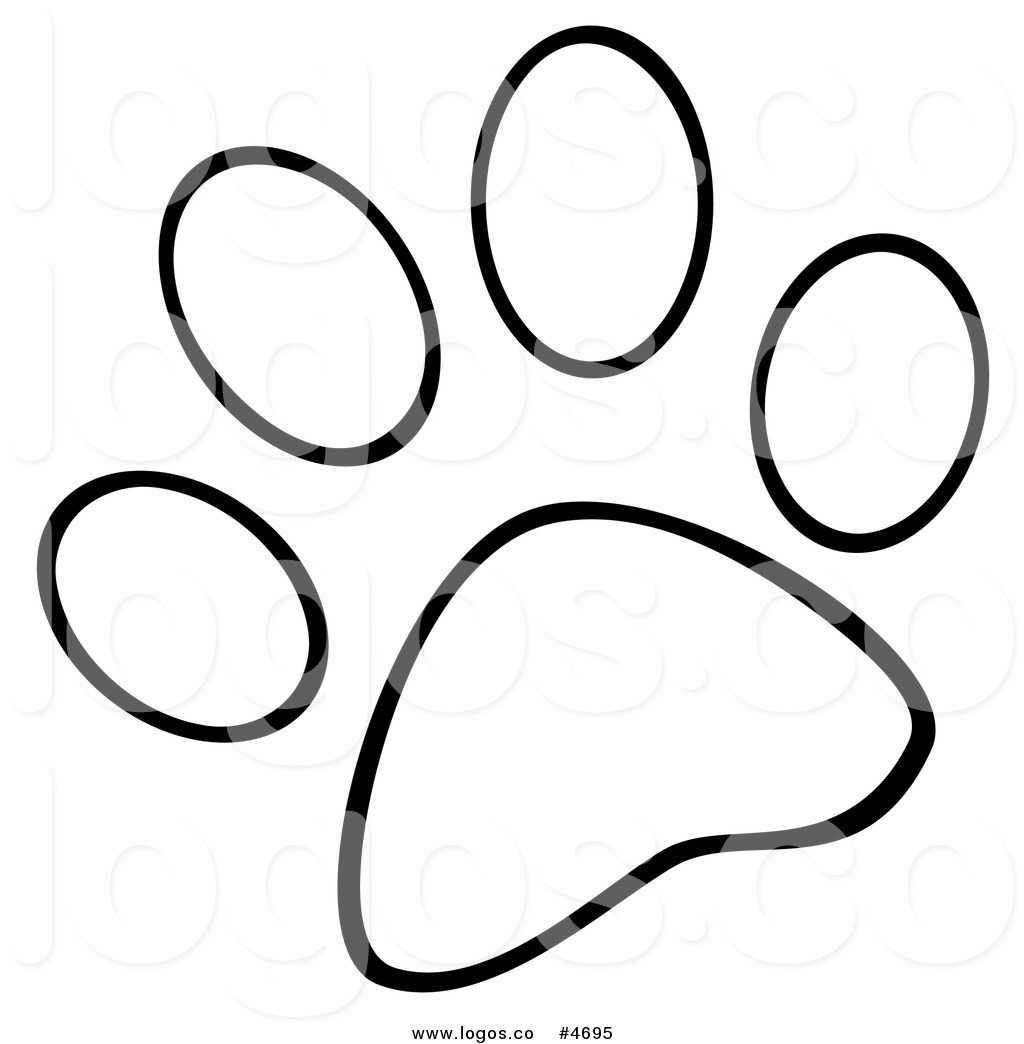 Blues Clues Paw Print Clipart