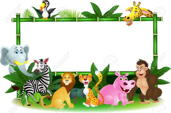 Cartoon Jungle Animal | Free download on ClipArtMag