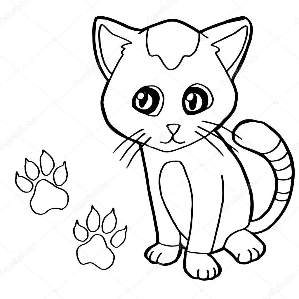 Cat Paw Drawing