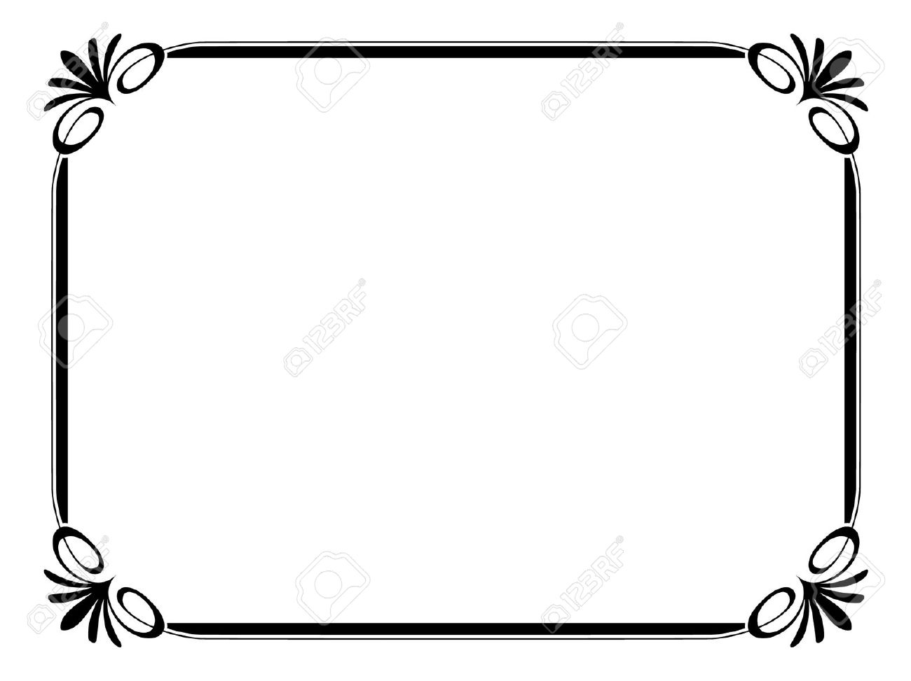 Certificate Borders And Frames Clipart