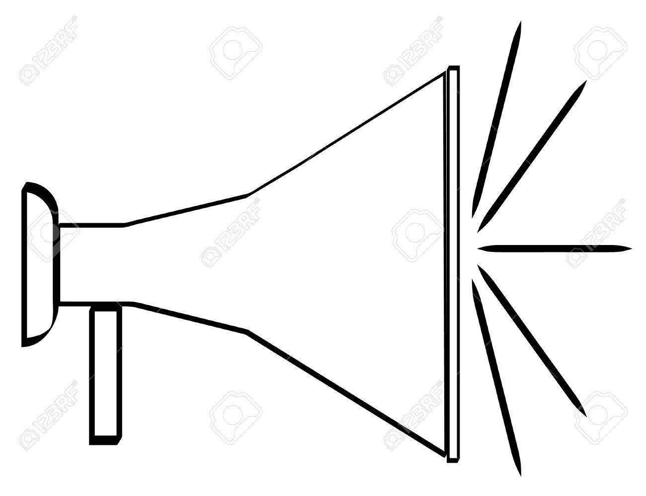 Cheerleading Megaphone Images