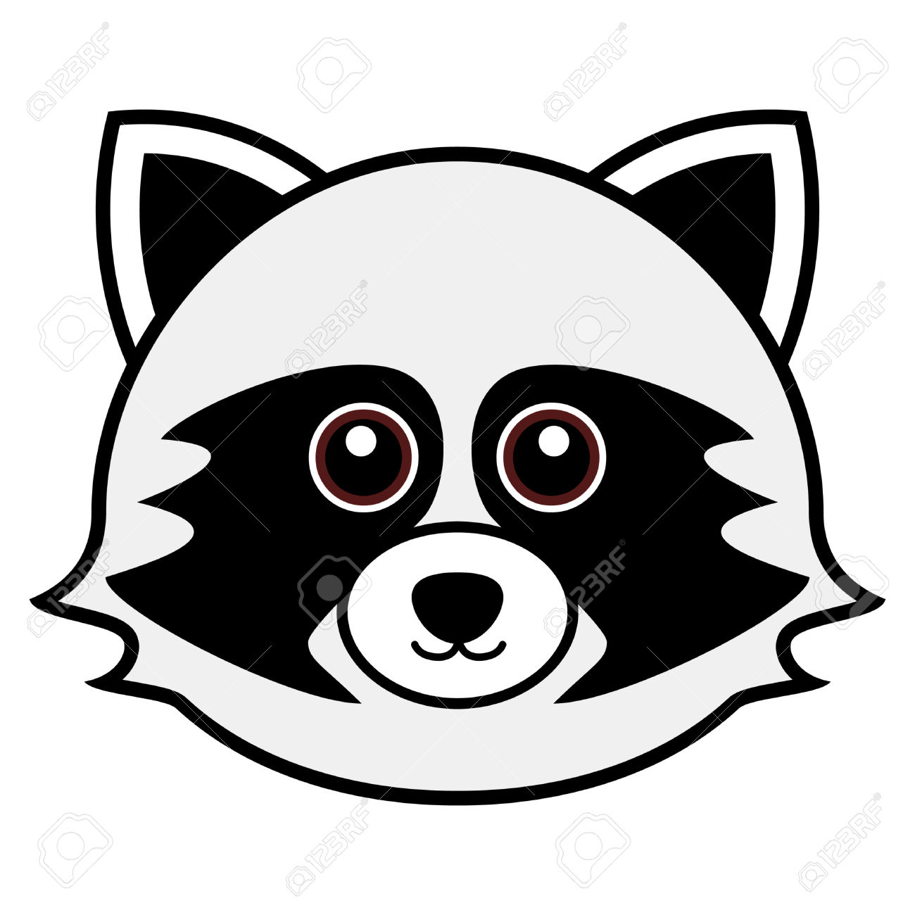 Chester Raccoon Clipart
