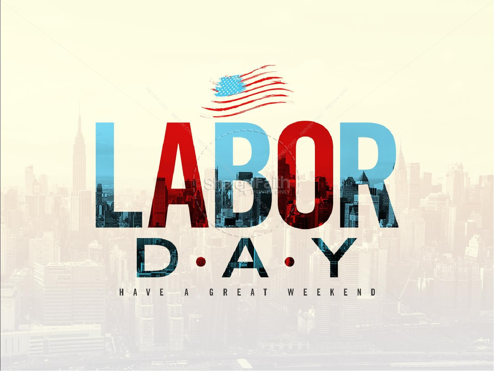 Christian Labor Day Images