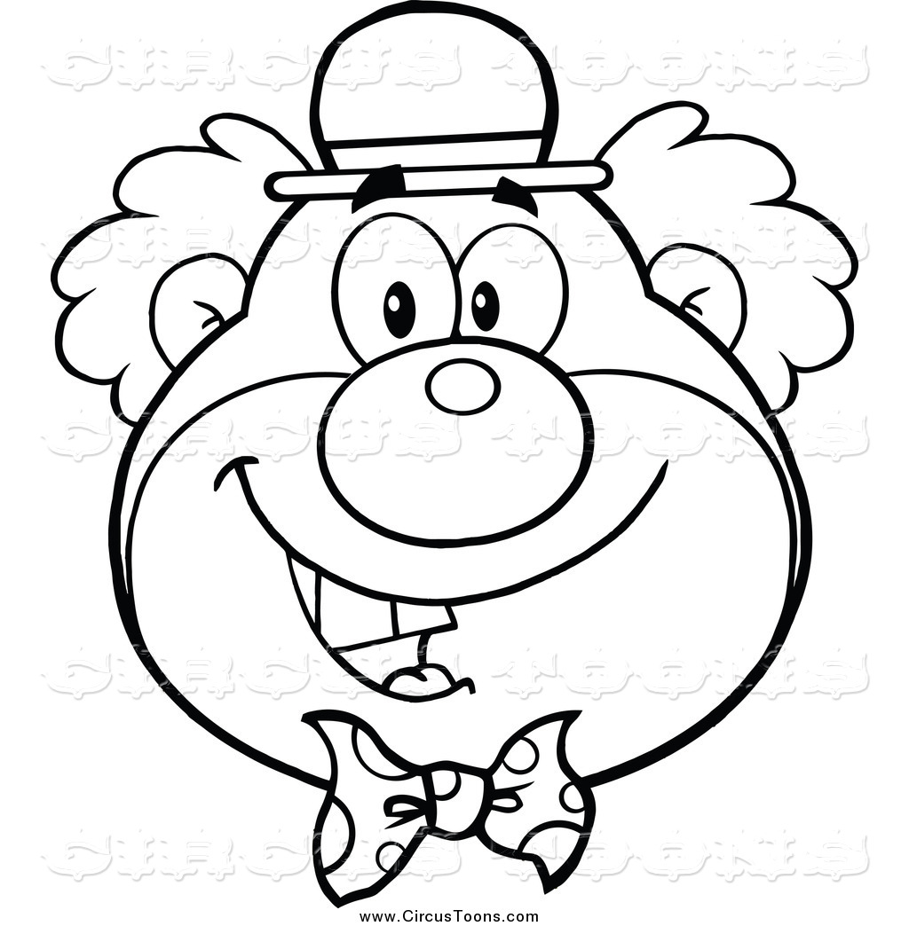 Circus Clipart Black And White