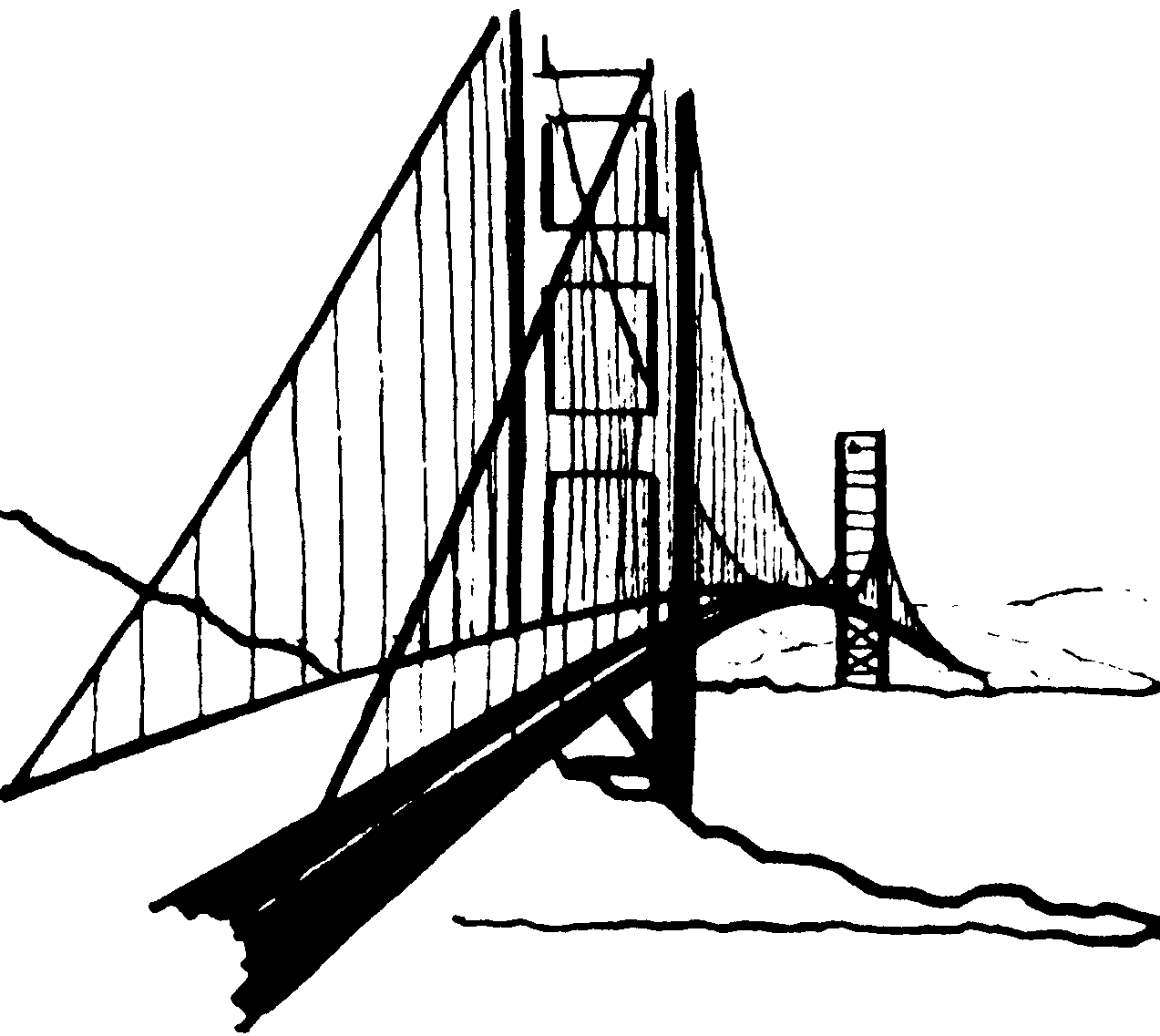 City Clipart Black And White