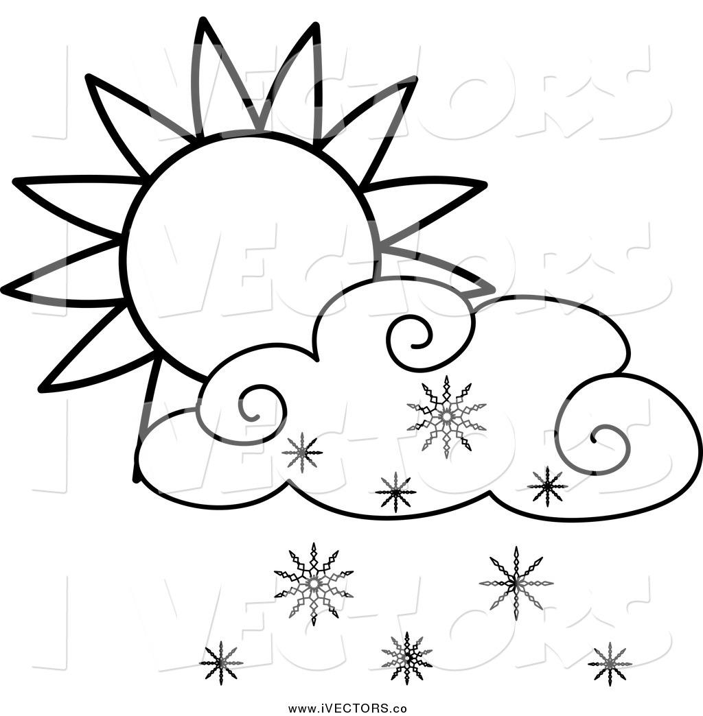 Cloud Line Art