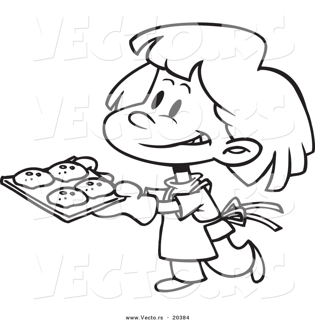 Cookies Clipart Black And White