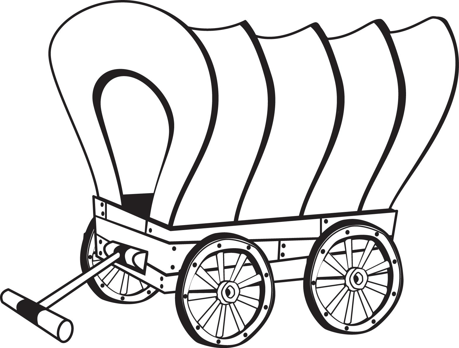 Covered Wagon Cliparts