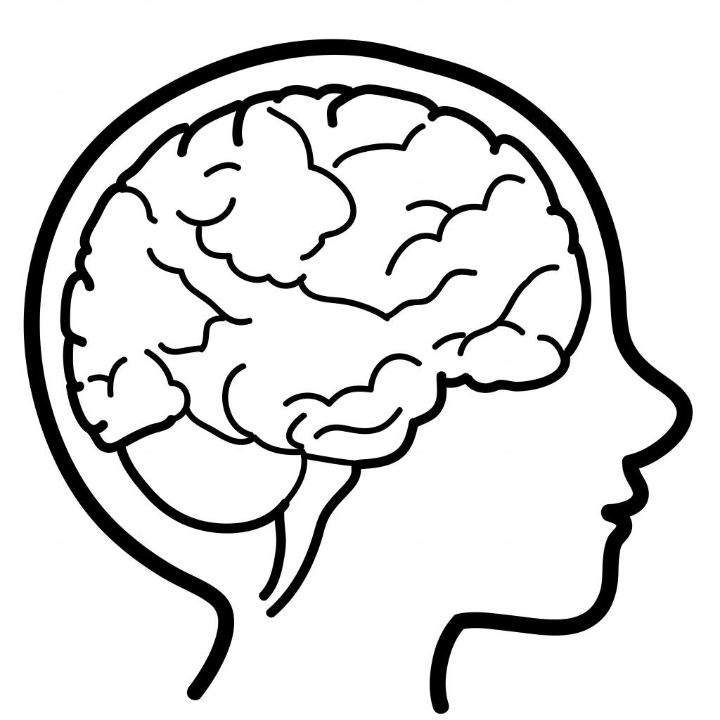 Cute Brain Clipart