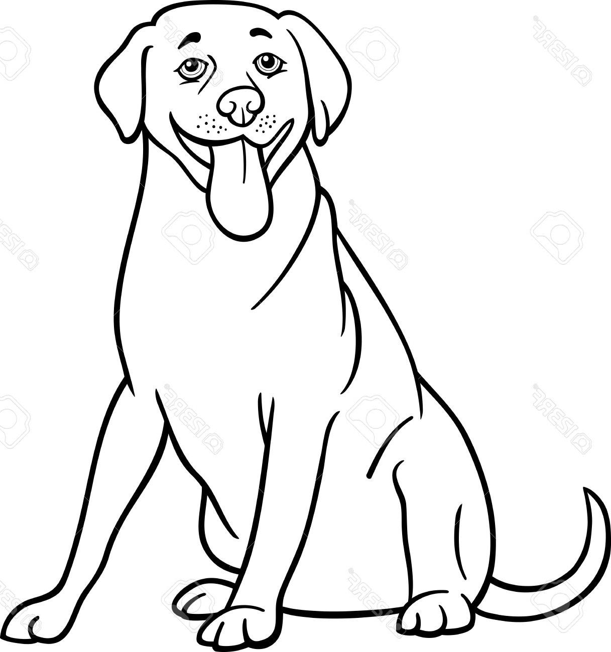 Dog Clipart Black And White
