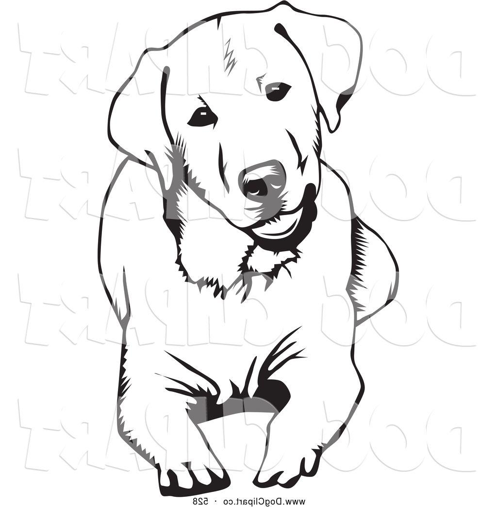 Dog Laying Down Clipart