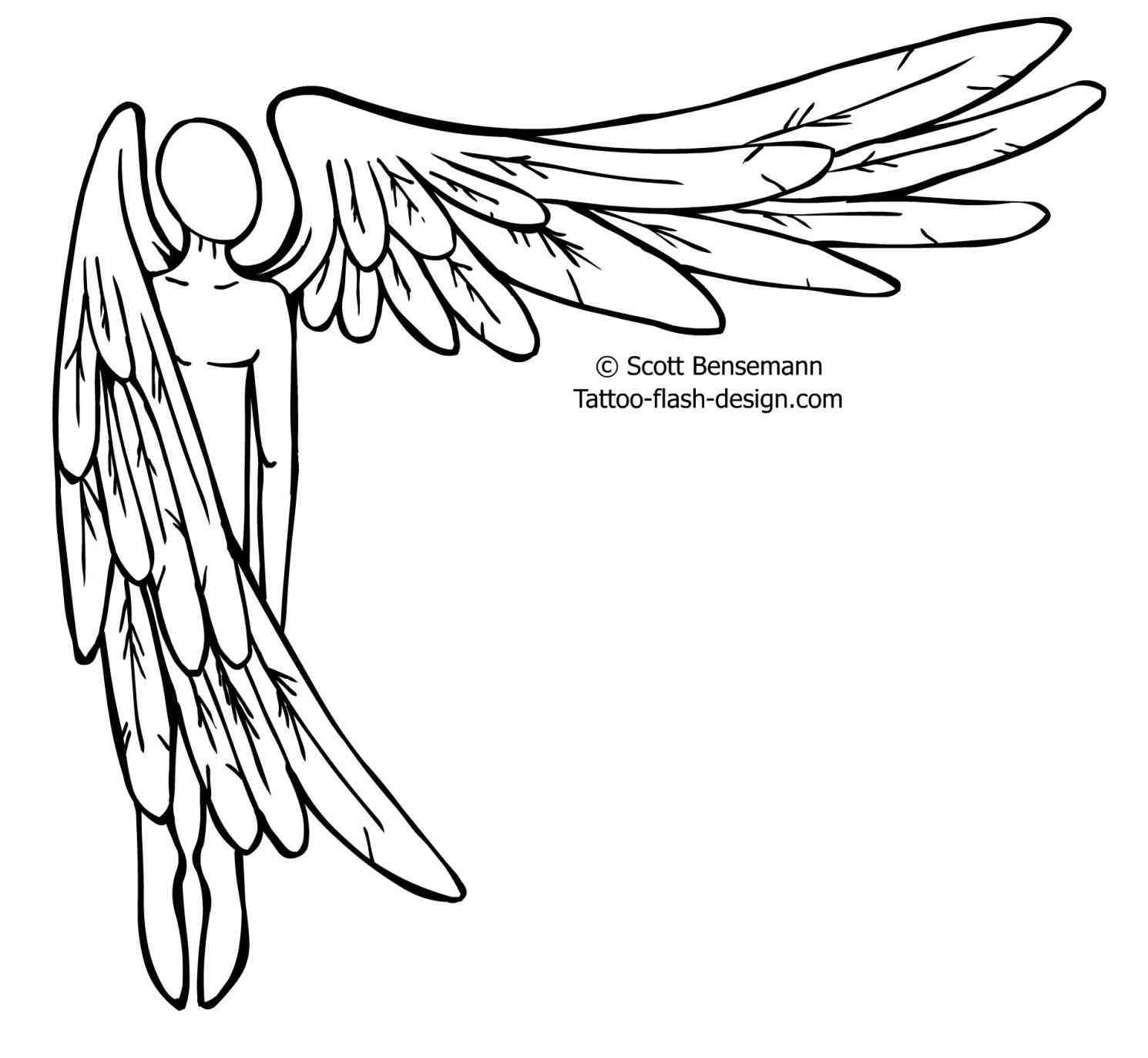 Drawings Of Crosses With Wings