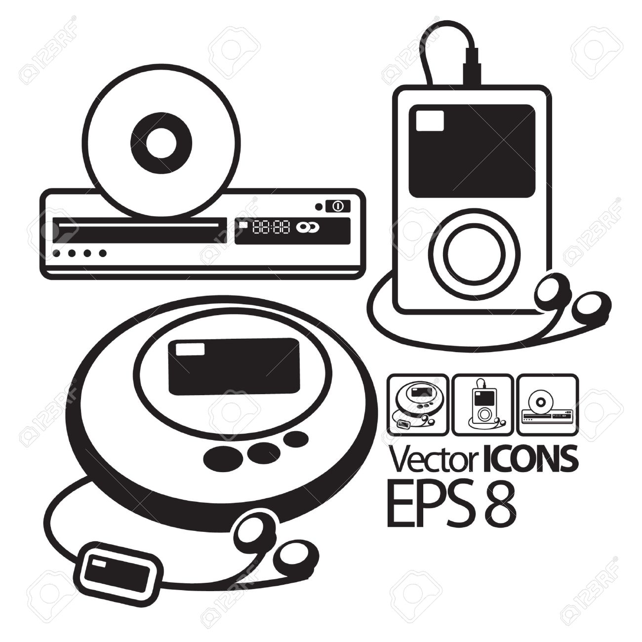 Dvd Player Clipart