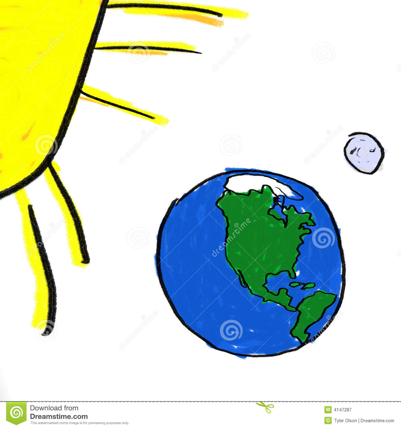 Earth And Sun Clipart