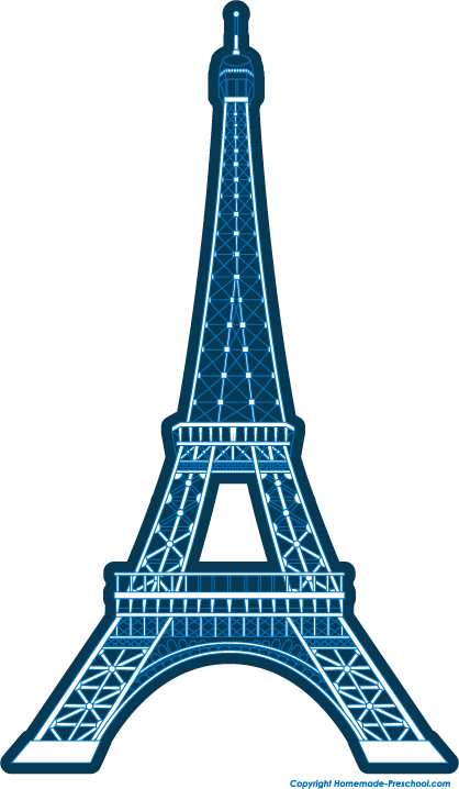 Eiffel Tower Clipart | Free download on ClipArtMag
