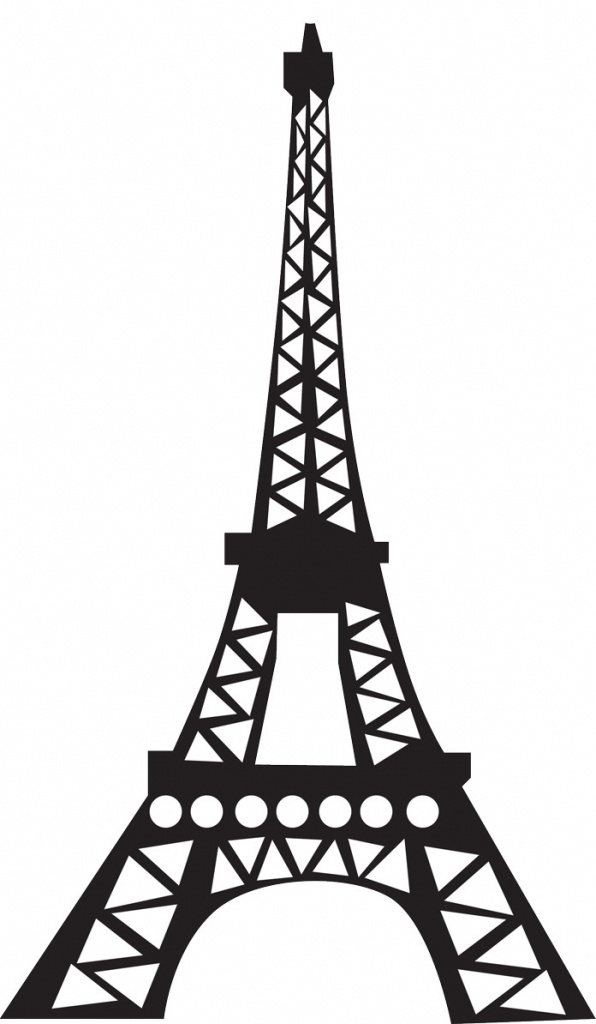 Eiffel Tower Drawing | Free download on ClipArtMag