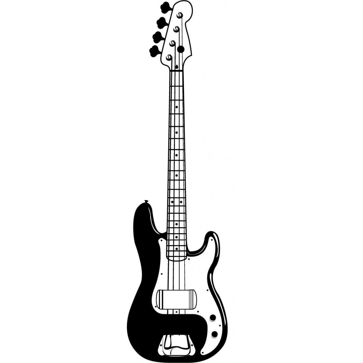 Electric Guitar Art Clipart