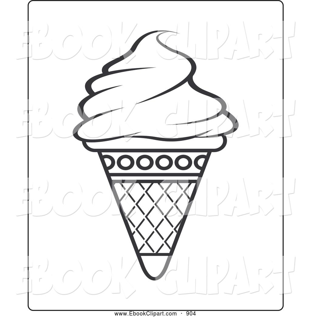 Empty Ice Cream Cone Clipart