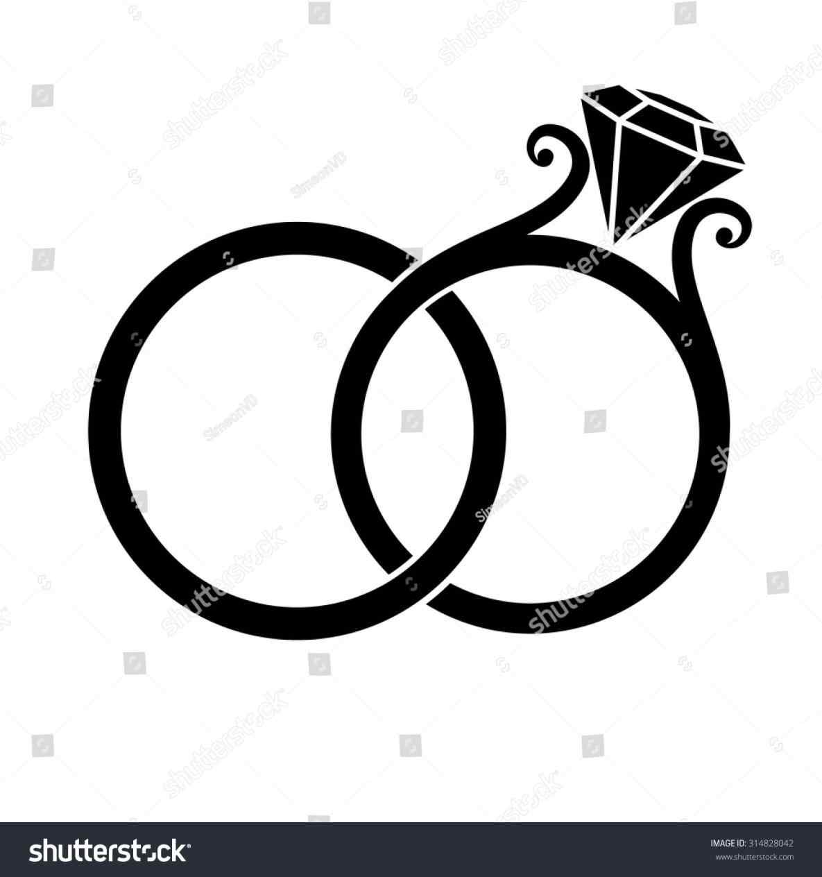 Engagement Ring Silhouette