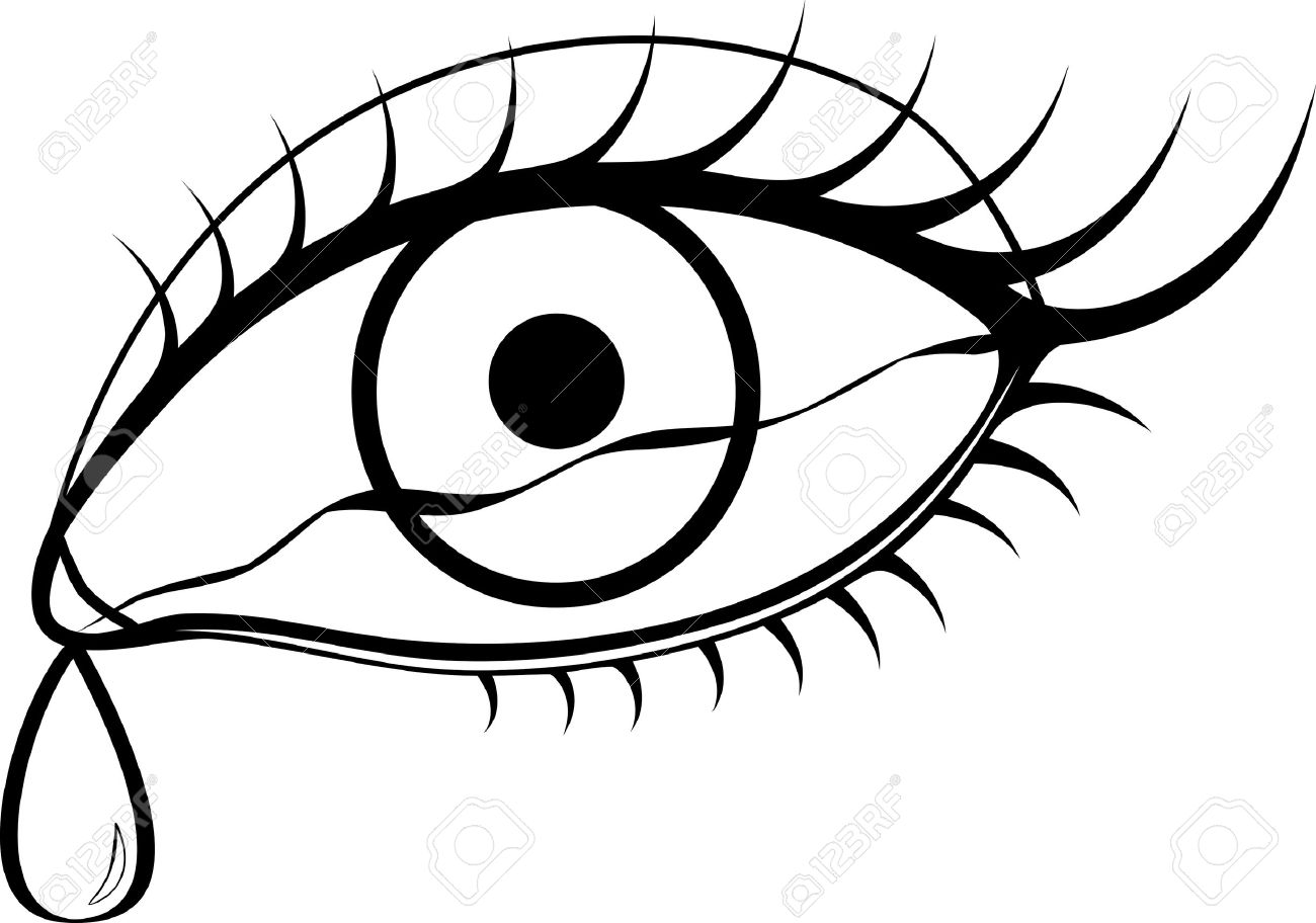 Eyes Black And White Clipart