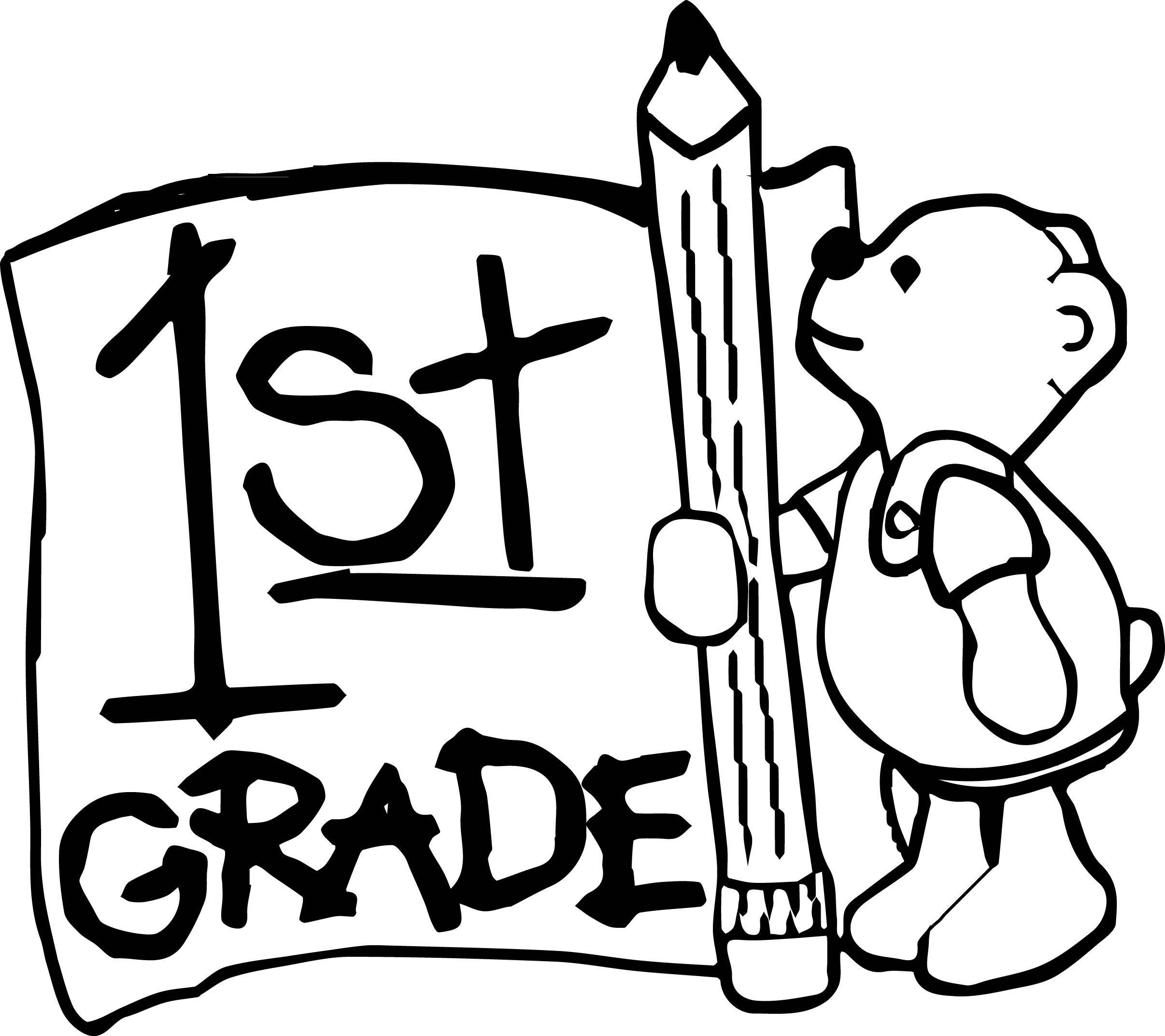 First Grade Clipart