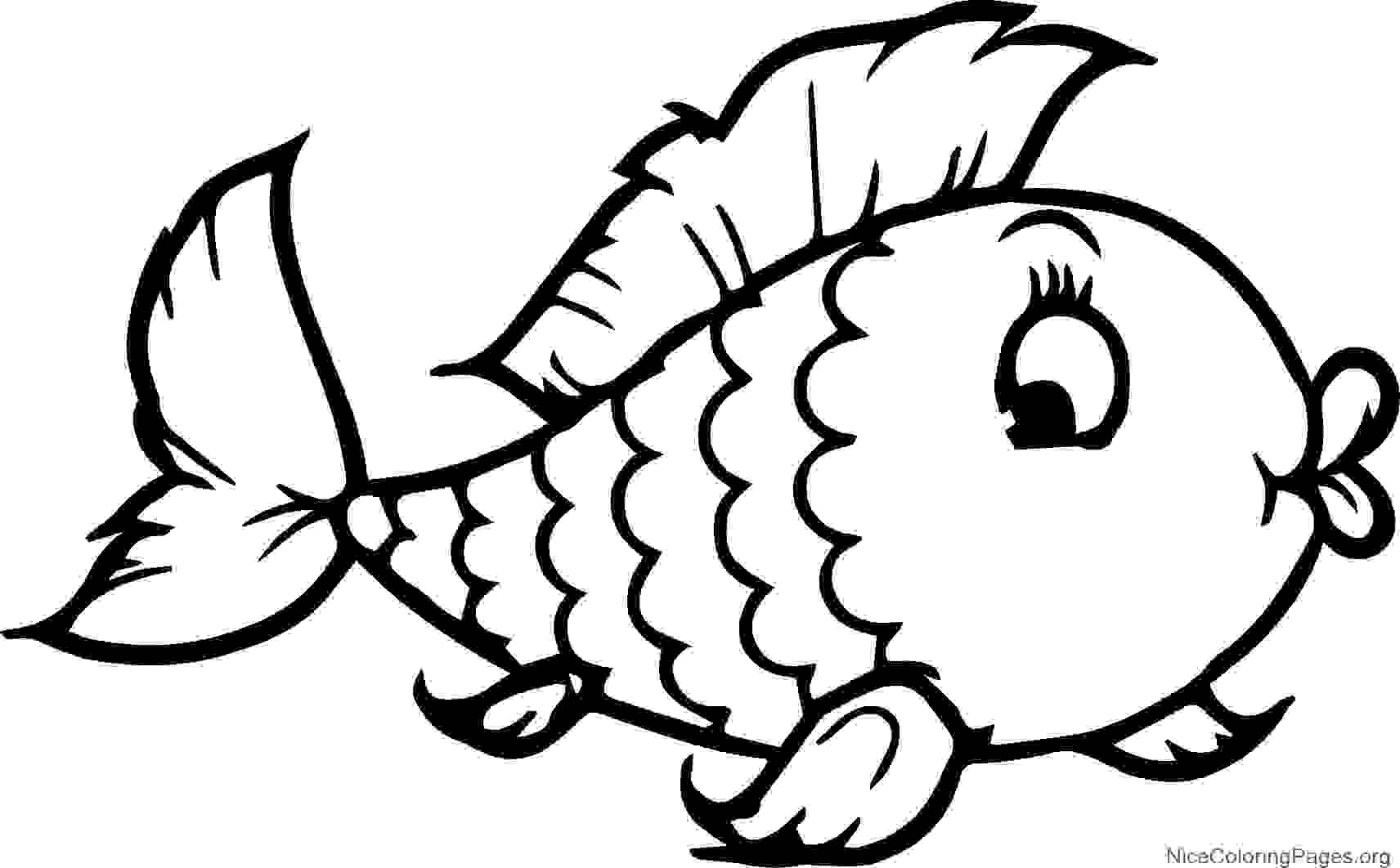 Fish Drawing For Kids