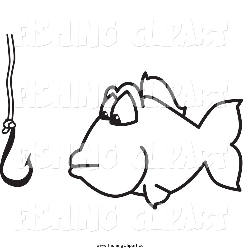 Fish On Hook Clipart