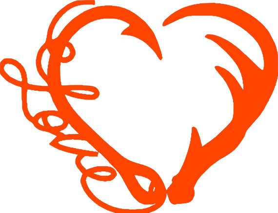 Download Fishing Hook Heart Clipart | Free download on ClipArtMag