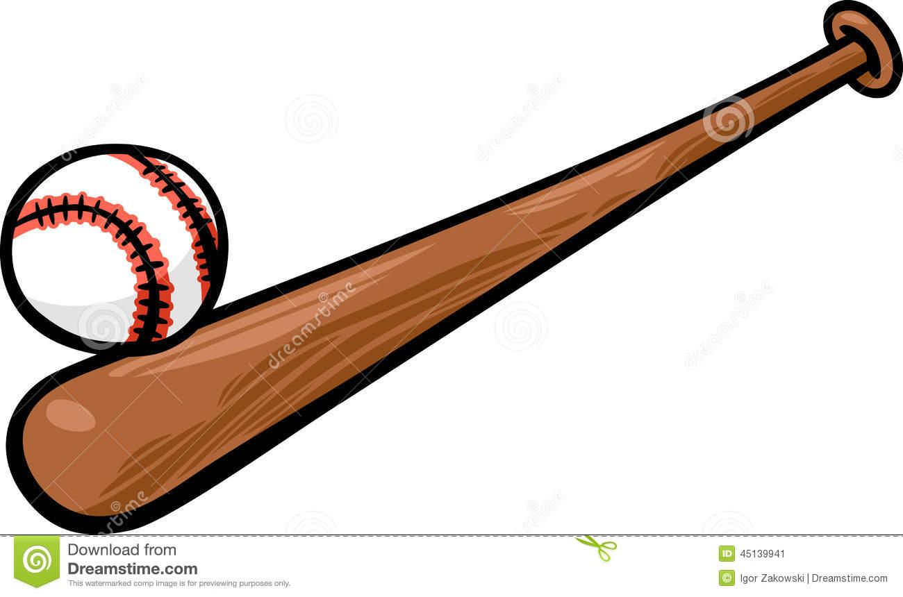 Free Baseball Bat Clipart