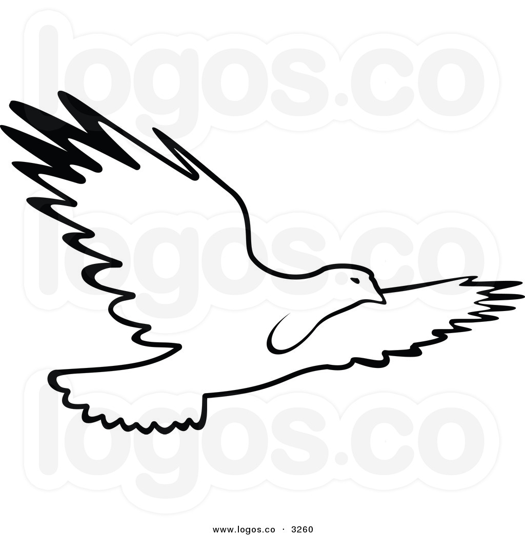 Free Bird Clipart Black And White