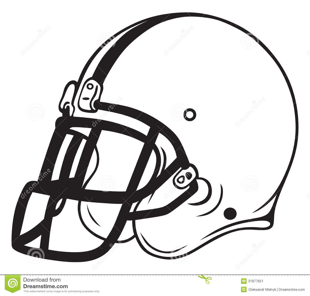 Free Clipart Football Helmet