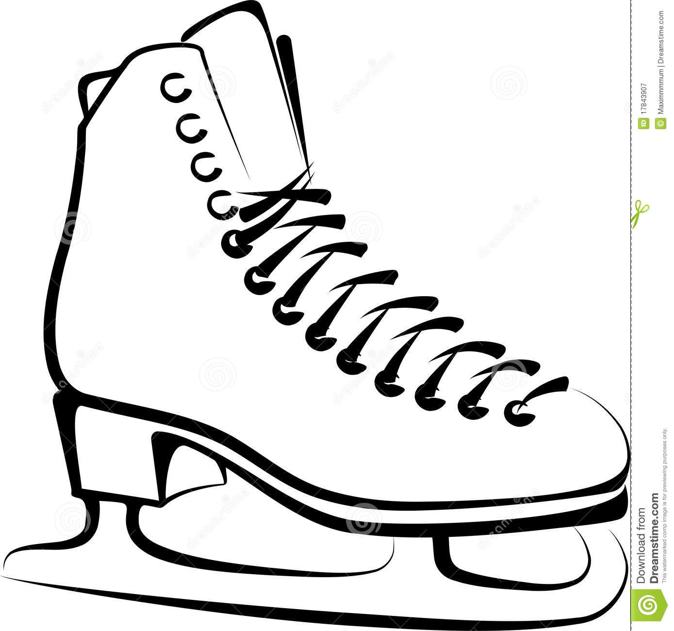 Free Ice Skating Clipart