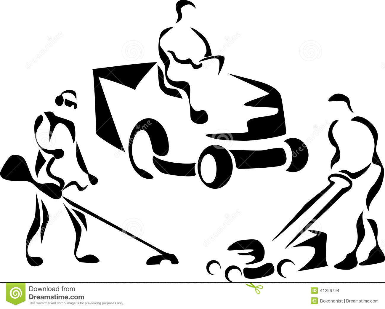 Free Lawn Mower Clipart