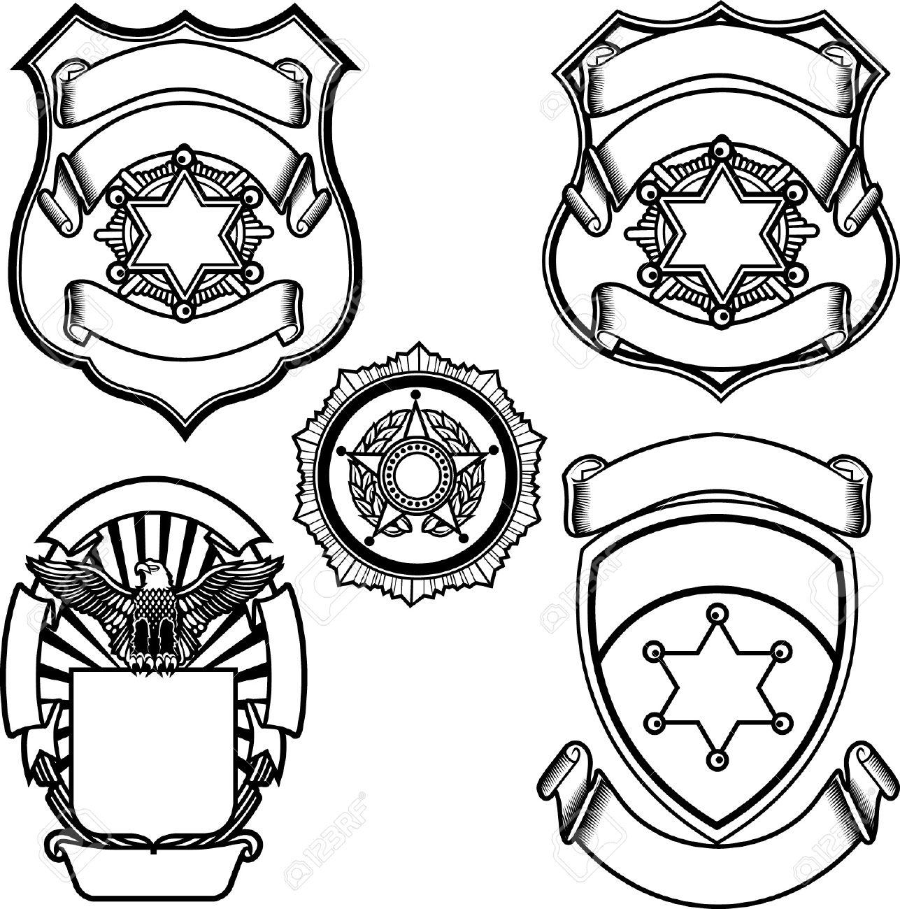 Free Printable Police Badge Template