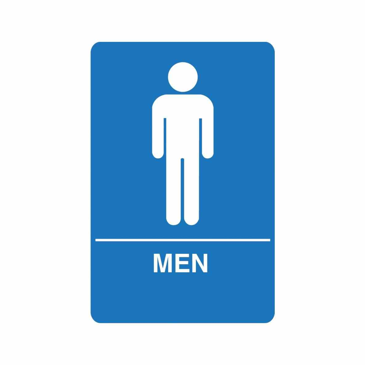 Free Printable Restroom Signs Clipart