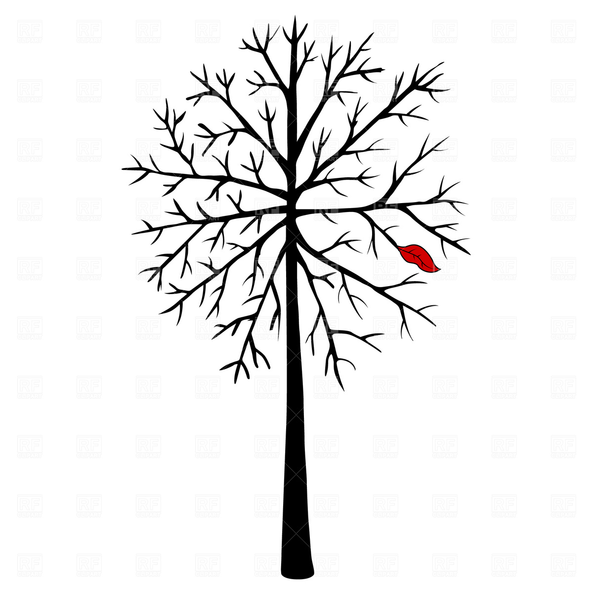 Free Vector Tree Clipart
