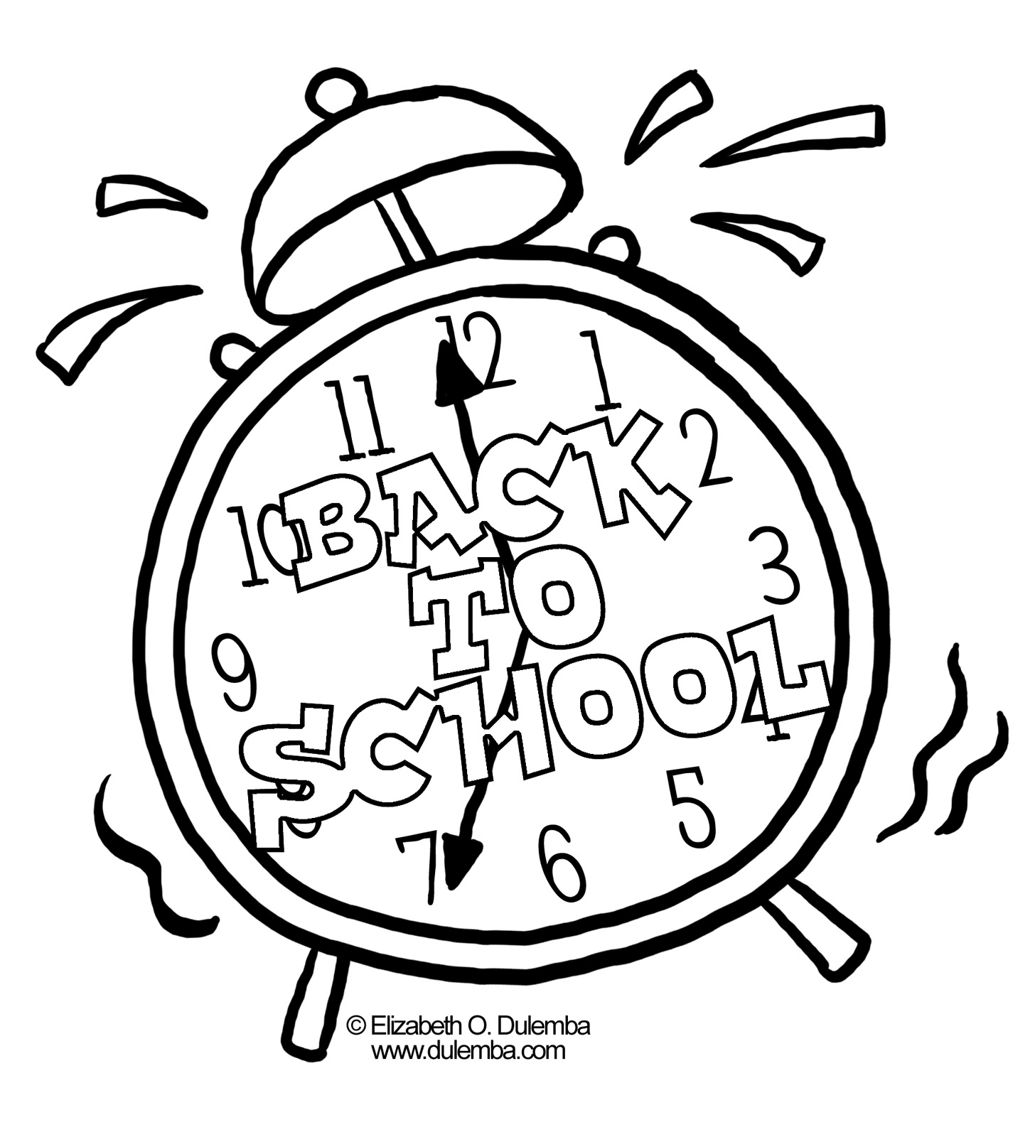 Go Sign Coloring Page