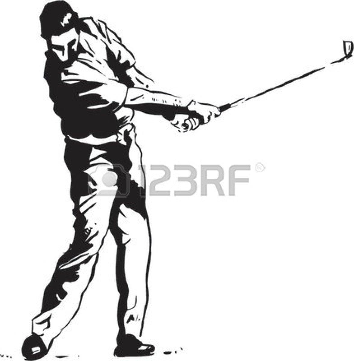 Golf Ball On Tee Clipart