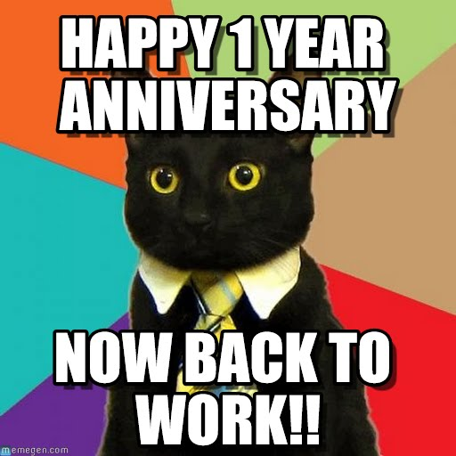 Happy 2nd Year Work Anniversary