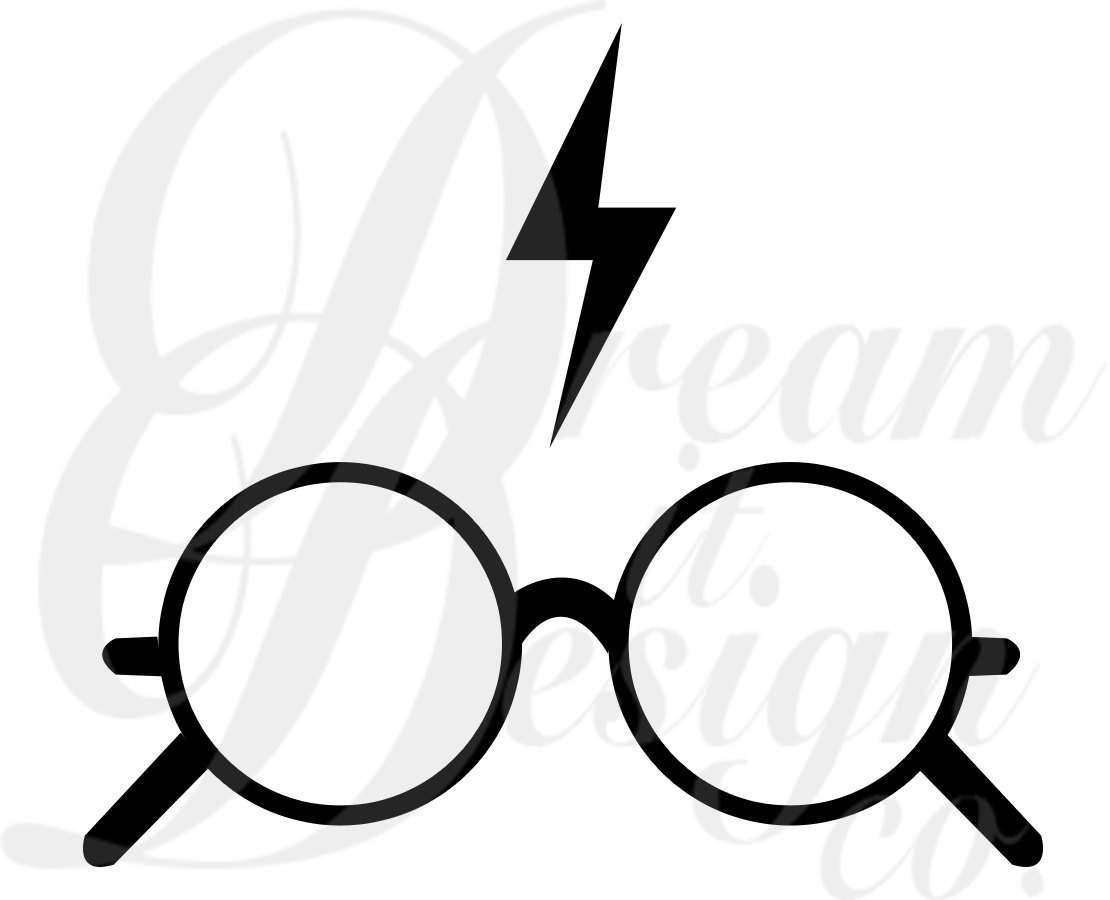 Harry Potter Lightning Bolt Clipart