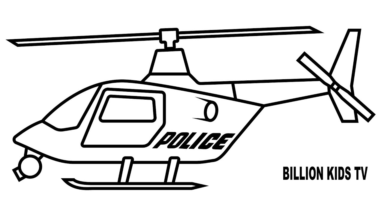 Helicopter Coloring Pages Free Download Best Helicopter Coloring
