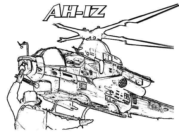 Helicopter Coloring Pages Free Download Best Helicopter
