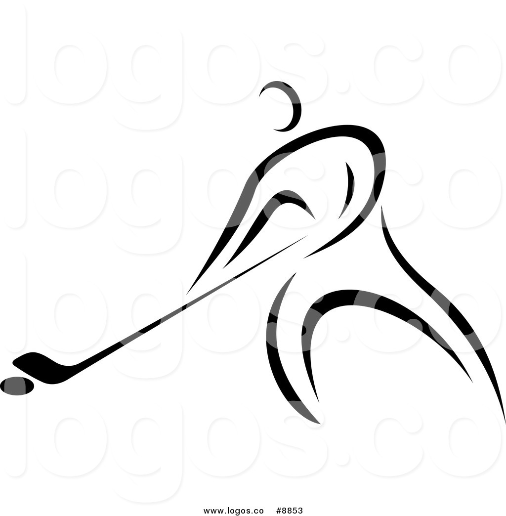Hockey Clipart Black And White