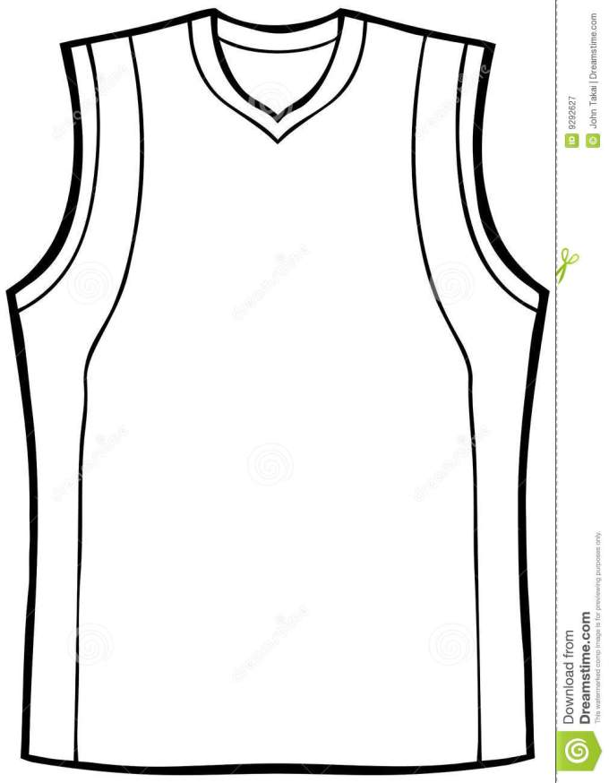 Hockey Jersey Template Vector Its Your Template