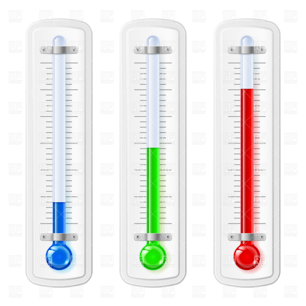 Hot And Cold Thermometer