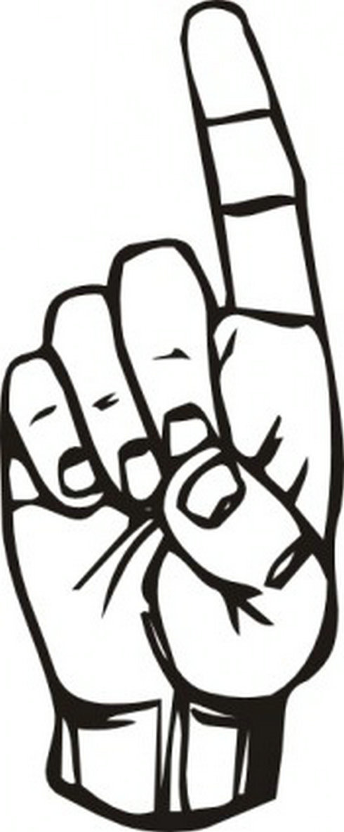 Download I Love You Sign Language Clipart | Free download on ClipArtMag