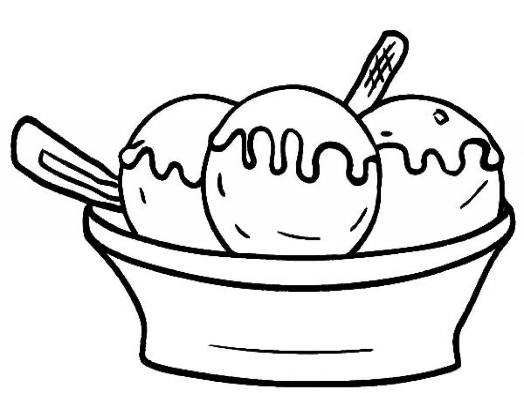 Ice Cream Scoops Template